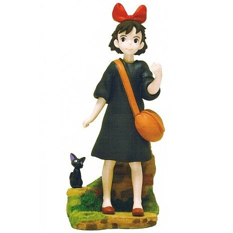Figure - Pen Stand - Kiki & Jiji - Kiki's Delivery Service - Ghibli - 2012 - no production (new)