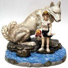 1 left - Music Box - San & Moro - Porcelain - Mononoke - Sekiguchi - no production (new)