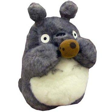 1 left- Plush Doll (L) H40cm- make sound - Totoro play Ocarina -squeeze ocarina -no production (new)