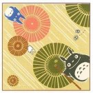 4 left - Handkerchief - 21.5x21.5cm - umbrella - made in Japan - Totoro - no production (new)