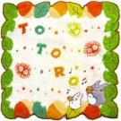 Mini Towel - Ocarina - Totoro & Sho Totoro & Kurosuke - Ghibli - 2013 (new)