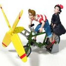3 left - Kiki & Tombo Riding Bicycle - Tomica - Kiki's Delivery Service - no production (new)