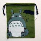 3 left - Kinchaku Bag - Totoro - Ghibli - 2010 - out of production (new)