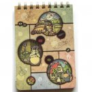 1 left - Mini Memo Notebook - Ring - Andon - Totoro - Ghibli - out of production (new)