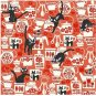 Origami / Folding Paper - 5 designs x 4 sheets - 15x15cm - Kiki's Delivery Service - 2013 (new)