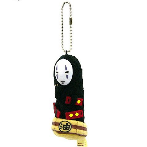 Strap Holder Holder - Kaonashi No Face - Mascot - Spirited Away - Ghibli Sun Arrow 2013 no production (new)