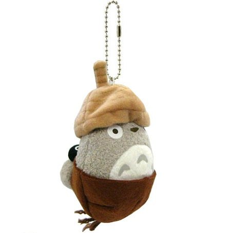 Mascot - Strap Holder - Acorn - Totoro & Kurosuke - Ghibli Collection - Sun Arrow - 2013 (new)