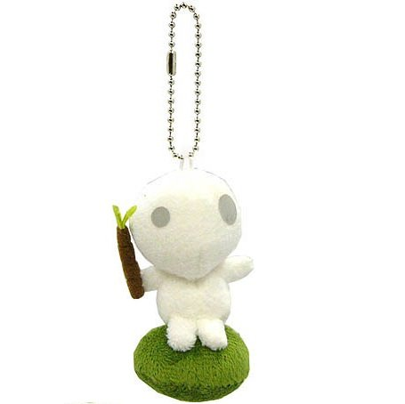 Mascot - Strap Holder - Kodama - Mononoke - Ghibli Collection - Sun Arrow - 2013 (new)