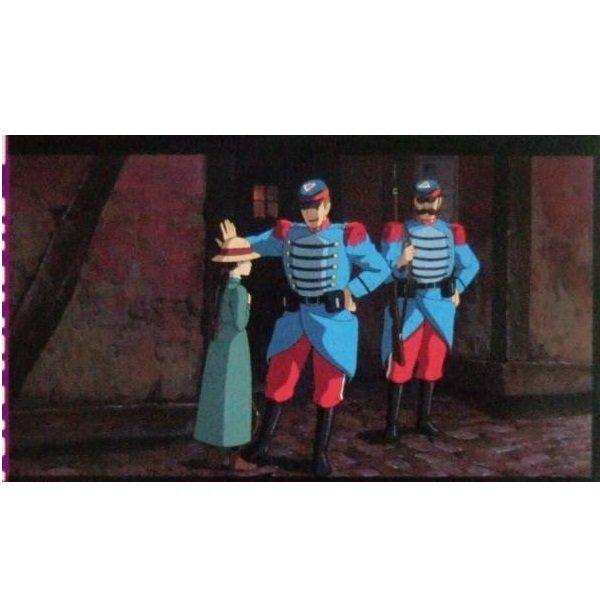 1 left - Bookmarker - Movie Film #2 - 6 Frame - Sophie - Howl's Moving Castle - Ghibli Museum (new)