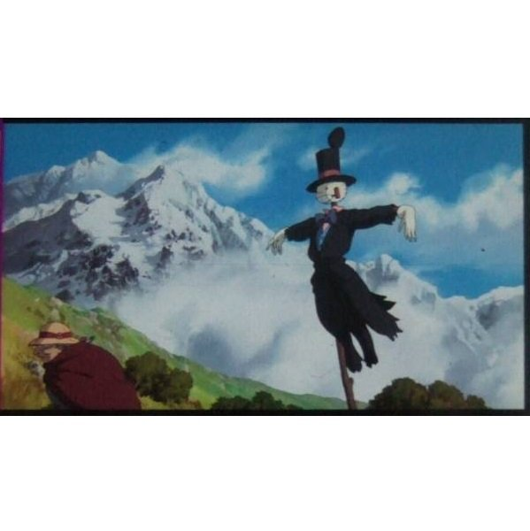 SOLD - Bookmarker - Movie Film #5 - 6 Frame - Kabu - Howl's Moving Castle - Ghibli Museum (new)