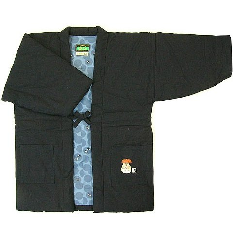 Japanese Hanten / Indoor Coat - Male - Embroider - Handmade in Japan - Totoro - Ghibli - 2013 (new)
