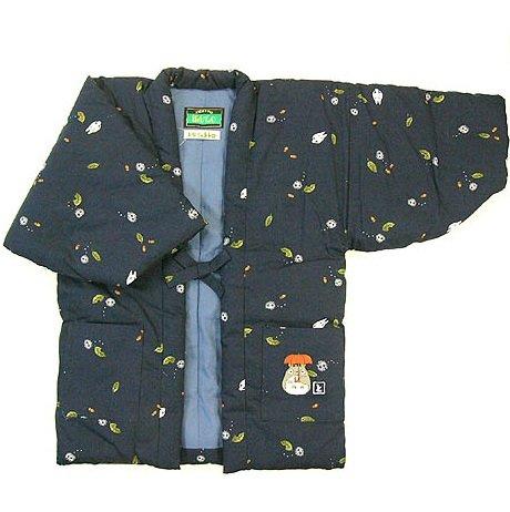 Japanese Hanten / Indoor Coat - Kids 120cm - Embroider - Handmade in Japan - Totoro - 2013 (new)