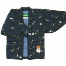 Japanese Hanten / Indoor Coat - Kids 110cm - Embroider - Handmade in Japan - Totoro - 2013 (new)