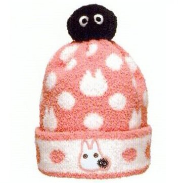 Hat - Kids - Stretch - pink - Totoro & Sho Totoro & Kurosuke - 2013 - no production (new)