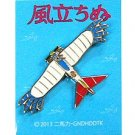 Pin Badge - Bird-like Airplane - Wind Rises / Kaze Tachinu - Ghibli - 2013 (new)