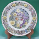 4 left - Yearly Plate 2000 - Wooden Stand - Noritake - made in Japan - Totoro - no production (new)