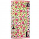 Bath Towel -60x120cm- Jacquard Weaving -rose- Jiji - Kiki's Delivery Service -made Japan -2013 (new)