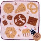 Mini Towel - 23x23cm - Applique & Embroidery - Jiji - Kiki's Delivery Service - Ghibli - 2013 (new)