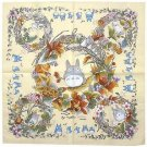 3 left - Bandana / Big Handkerchief -53x53cm- mori - Totoro - made Japan - no production (new)