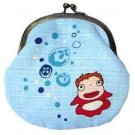 3 left - Japanese Gamaguchi Purse - Ponyo - made in Japan - Ghibli - no production (new)