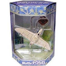 10 left - Keychain - Gunship Figure - Cominica - Nausicaa - Ghibli - no production (new)