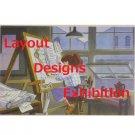 1 left - Postcard - Layout Designs Exhibition - Fio - Porco - Ghibli - no production (new)
