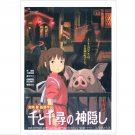 Clear File A4 - 22x31cm - Sen & Pig - Spirited Away - Ghibli - 2013 (new)