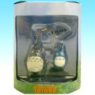 2 left - Chain Strap Holder - Mini Figure - Totoro & Chu Totoro - Cominica - Ghibli - no production (new)