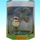 1 left - Chain Strap Holder - Mini Figure - Howl Totoro on Top & Acron - Cominica - no production (new)