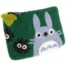 Pouch Purse - 30x35cm - Felt - Totoro & Kurosuke - Ghibli - Klippan - 2013 - no production (new)