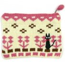 Pouch Purse - 12x13.5cm - Kitting - pink - Jiji - Kiki's Delivery Service - Ghibli - 2013 (new)