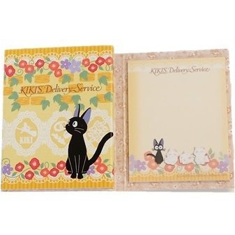 Post-it Notepad - 4 Design x 20 Page Each -made Japan - Jiji - Kiki's Delivery Service - 2014 (new)