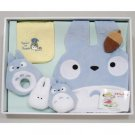 Baby Gift Set - 6 item - Chu Totoro Baby Bid Rattle Whistle Towel - Sun Arrow no production (new)
