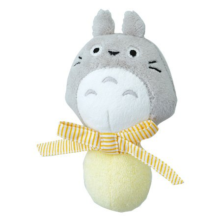 1 left - Baby Rattle - soft bell sound - Totoro - Ghibli - Combi - 2007 - no production (new)