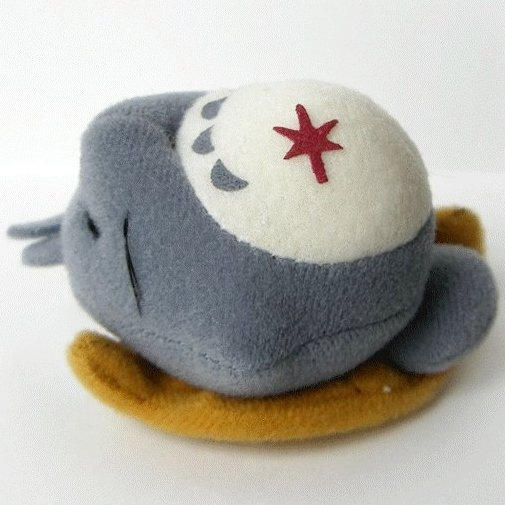 5 left - Magnet - Mascot - Sleeping Totoro - Ghibli - out of production (new)