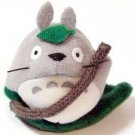 3 left - Mascot - Magnet - Totoro & Leaf Boat - Ghibli - no production (new)