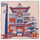 Handkerchief -40x40cm- 3 Layers- Yuya - Imabari - Made in Japan - Spirited Away - Ghibli 2014 (new)