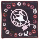 Handkerchief -29x29cm- Gauze - Asagao- made Japan- Jiji & Lily - Kiki's Delivery Service -2014 (new)