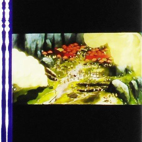 1 left - Movie Film #37 - 6 Frames - Battle - Mononoke - Ghibli (real film)