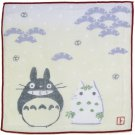 Handkerchief - 21.5x21.5cm - Gauze - winter - made in Japan - Totoro & Yukinko - Ghibli (new)