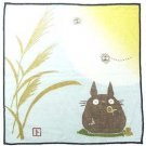 Handkerchief - 21.5x21.5cm - Gauze - autumn - made n japan - Totoro - Ghibli (new)