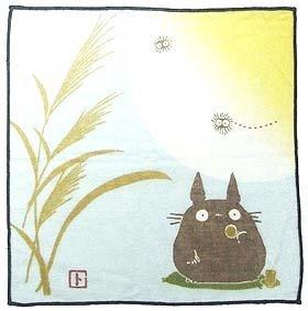 Handkerchief - 21.5x21.5cm - Gauze - autumn - made n japan - Totoro - Ghibli (new)