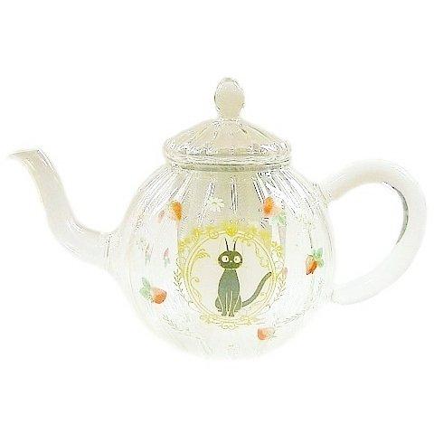 Tea Pot - Heat resisting Glass - Strainer - Jiji - Kiki's Delivery Service - Ghibli - 2014 (new)