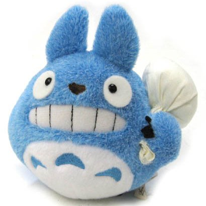 Fluffy Plush Doll - H14cm - Smile - Bag - Chu Totoro - Ghibli - Sun Arrow - 2014 (new)