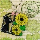 Strap Holder - Sunflower August - 12 Months Charm - Jiji Kiki's Delivery Service 2014 no production