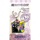 Strap Holder - Pansy (January) - Zinc - 12 Months Charm - Jiji - Kiki's Delivery Service - 2014 (new)
