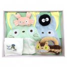 Baby Gift Set - 6 items - Bib & Towel & Rattle - Nekobus - Totoro - Sun Arrow - 2014 (new)