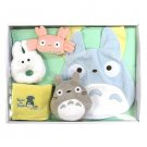 Baby Gift Set - 5 items - Bib & Towel & Rattle & Whistle - Totoro - Sun Arrow - 2014 (new)