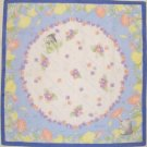 2 left- Handkerchief -48x48cm- Hand Dyed -Satin-summer- Totoro - made Japan -no production(new)