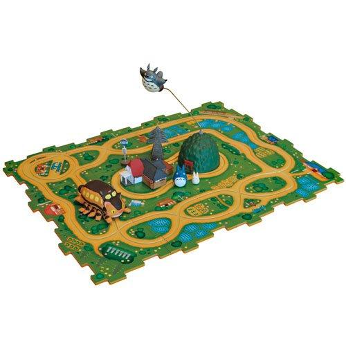 Puzzle Rail - Nekobus move Legs - Totoro Fly in Circle - Sho & Chu & Totoro & House- 2014 (new)